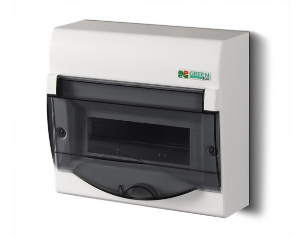 GREEN BOX RN 1/8+2 IP 40 (N+PE)