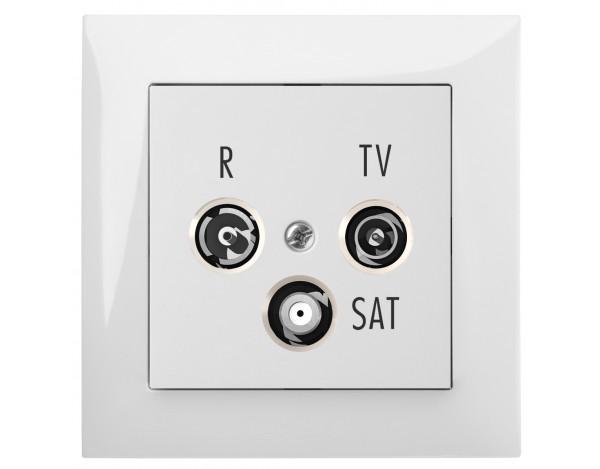 SENTIA gniazdo podtynkowe R-TV-2xSAT