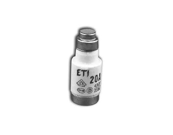Wkładka bezpiecznikowa D02/gG/20A/E14/400V