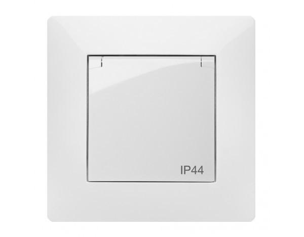 VOLANTE gniazdo pojedyńcze 2P+Z IP44 z ramką
