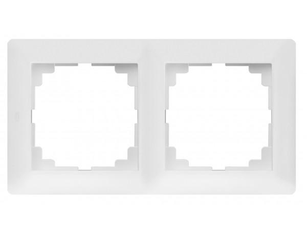 ASTORIA Ramka x2 biała