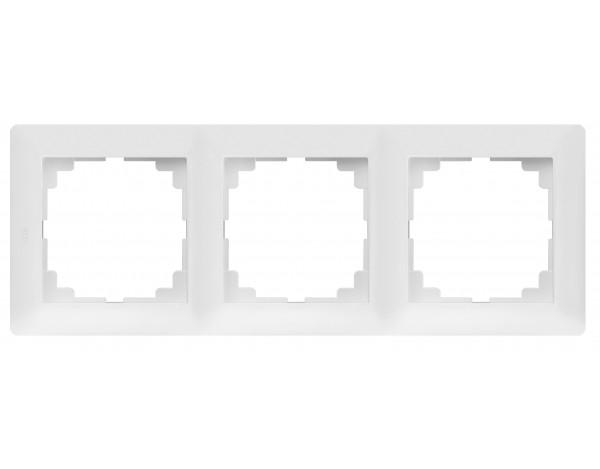 ASTORIA Ramka x3 biała