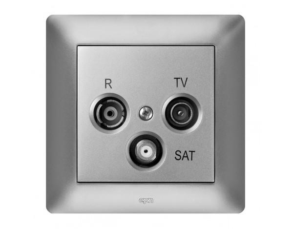 ASTORIA GNIAZDO ANTENOWE R-TV-SAT BEZ RAMKI